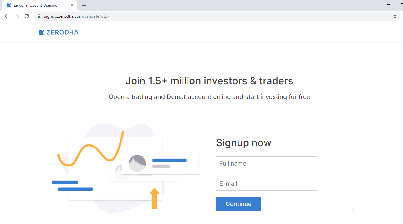 open account with zerodha online