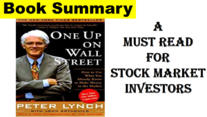Read more about the article One Up on Wall Street Book Summary & Review